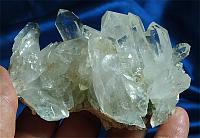 Fabulous, DT Lemurian Himalayan Quartz Energy Shield Quartz Cluster