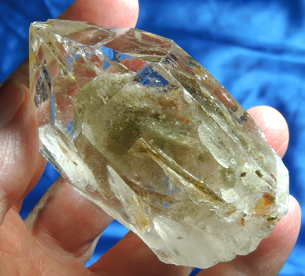 Phantomed and Mysterious Shaman's Dream Ultra-Clear Quartz