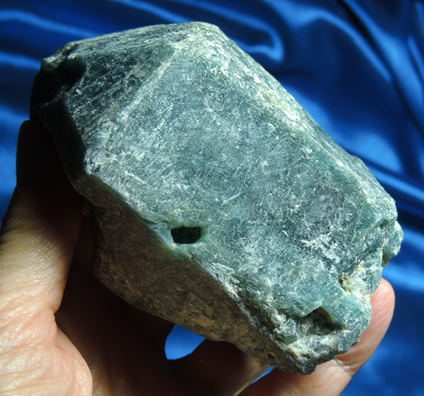 Castle of Teal Blue Apatite for Altar - Physical and Psychic Opening