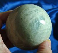 Large and Unusual Angelic Aquamarine Sphere