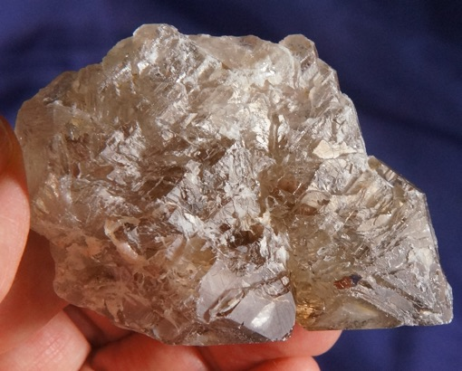 Sort of Weird Light of the Ancients Smoky Etched Aricuai Quartz Scepter