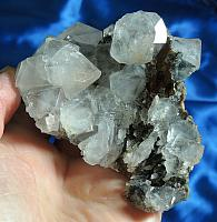 Showy Russian Beta Quartz Cluster with Glittery Ilvaite – Gateway to Higher Self