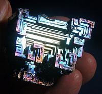 Iridescent Rainbow Bismuth - Transition