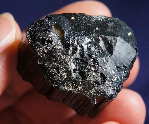 Astonishing Madagascar Black Tourmaline (aka Schorl)