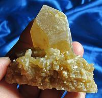 Lovely Golden Evolution (aka Caramel) Quartz Cluster