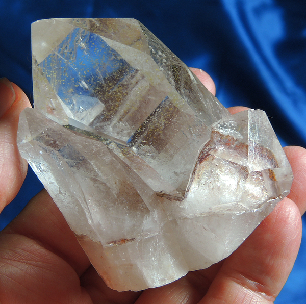 Centaurus Starbrary Quartz Cluster with Hematite Accents