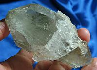 Leaf Green and Gold DT Chlorite Protector Spirit - Quartz