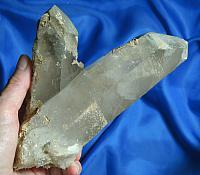 Spectacular DT Chlorite Quartz Cluster - Protection Altars