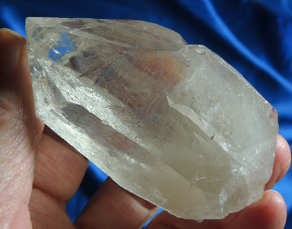 Double Waterfall Key Champagne Citrine Cathedral Lightbrary Quartz