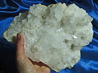 Light of the Ancients Meandering Quartz Cluster for Altar