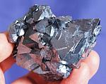 Rare Large Silvery Cuprite Crystal Cluster - Russia