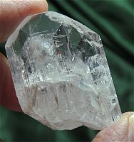 Gentle Heart-Stimulating Pink Danburite with Strange Glyphs
