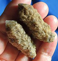 Pair of Golden Russian Earth Star Siderite Quartz