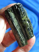 Gleaming Deep Green Blade of Epidote