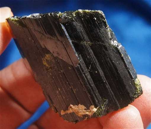 Exciting Deep Green Single Crystal of Epidote