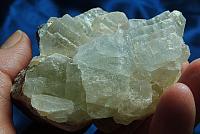 Frosty Pale Blue Fluorite Cluster
