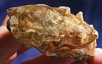 Fabulous Elestial Natural Gold and Buff Garden Quartz Crystal Cluster - Manifestors