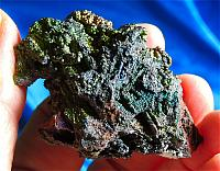Eye-Popping Electric Neon Rainbow Goethite