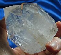 Stunning, Standing, Polished, Twinned Golden Healer Quartz