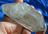 Mysterious Twinned DT Gray Starbrary Emissary Quartz