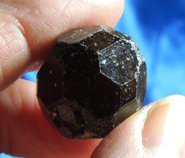 Incredible Brown-Skinned Green Garnet from Mali