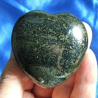 Lovely, Large Lemurian Jade Heart