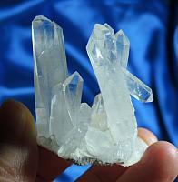 Awesome, Lemurian Himalayan Quartz Energy Shield Cluster
