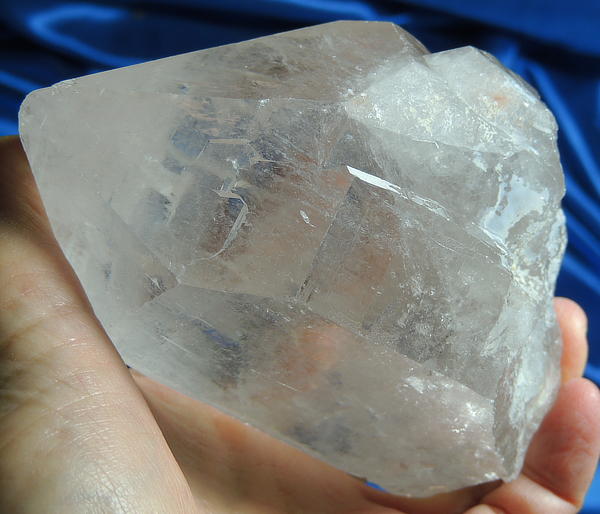 Altar-Sized Inderian Temple Starbrary Quartz with Large Key