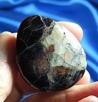 Abundant Rainbow Schiller Sunstone in Shaman's Iolite – Pocket Stone