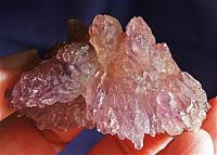 Sublime Karur Amethyst Flower with Cacoxenite, Lepidocrosite
