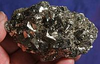 Magpie Special – Gleaming and Layered Gold Pyrite Cluster - Kosovo