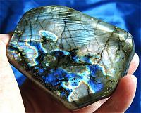 Large Aurora Borealis Labradorite - Madagascar