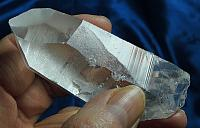 Abundance-Faced Clear Lemurian Seed Quartz Crown with Extra Facet