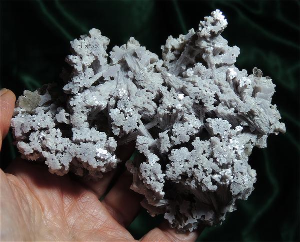 "Incredible ""Snowflakes"" of Lithium Rich Lepidolite with Citrine Quartz"