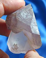Mystic Light Frosted Amethyst Scepter - Madagascar Quartz