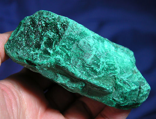 Large, African Magnificent, Sparkling Malachite