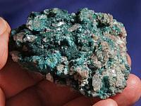 Unusual Deep Emerald Green Botryoidal Malachite with Chrysocolla, Quartz