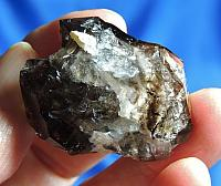 Light-Bright Moorella Smoky Quartz with Splotches of Druse