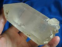 Soul Shepherd - Golden Mozambique Lemurian Quartz with Student
