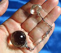 Beautiful Sphere and Heart Pendulum