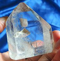 Handsome Polished Quartz with Rainbows and Topaz Manifestor