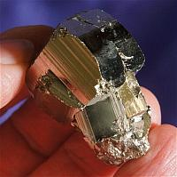 Awesome, Intense and Energetic Curved Cubic Pyrite Cluster