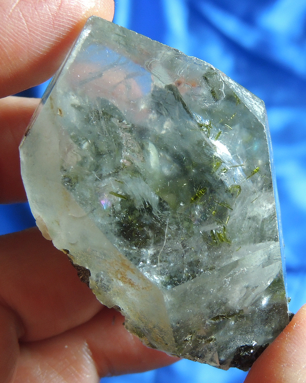 Well-Glyphed Electric Epidote Quartz – Lucid Dreaming