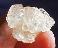 Delicate Crystalline Barely Blushed Rose Quartz