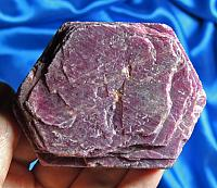 Extra-Extra Large Purple-Red Indian Ruby with Record Keepers