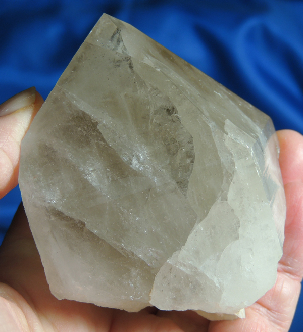 Compact and Powerful Light Smoky Russian Lemurian Quartz
