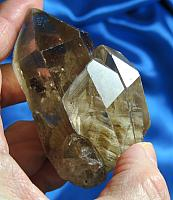 Mysterious and Empathic Lodelite-Included Smoky Quartz
