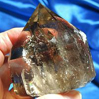 Magnificent Polished, Rainbowed Smoky Merlin Quartz