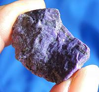 Wonderful Purple Sugilite with Splotches of Manganese