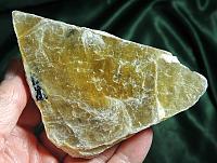 Outstanding Golden Lepidolite Book with Black (Schorl) Tourmaline - Lithium Rich